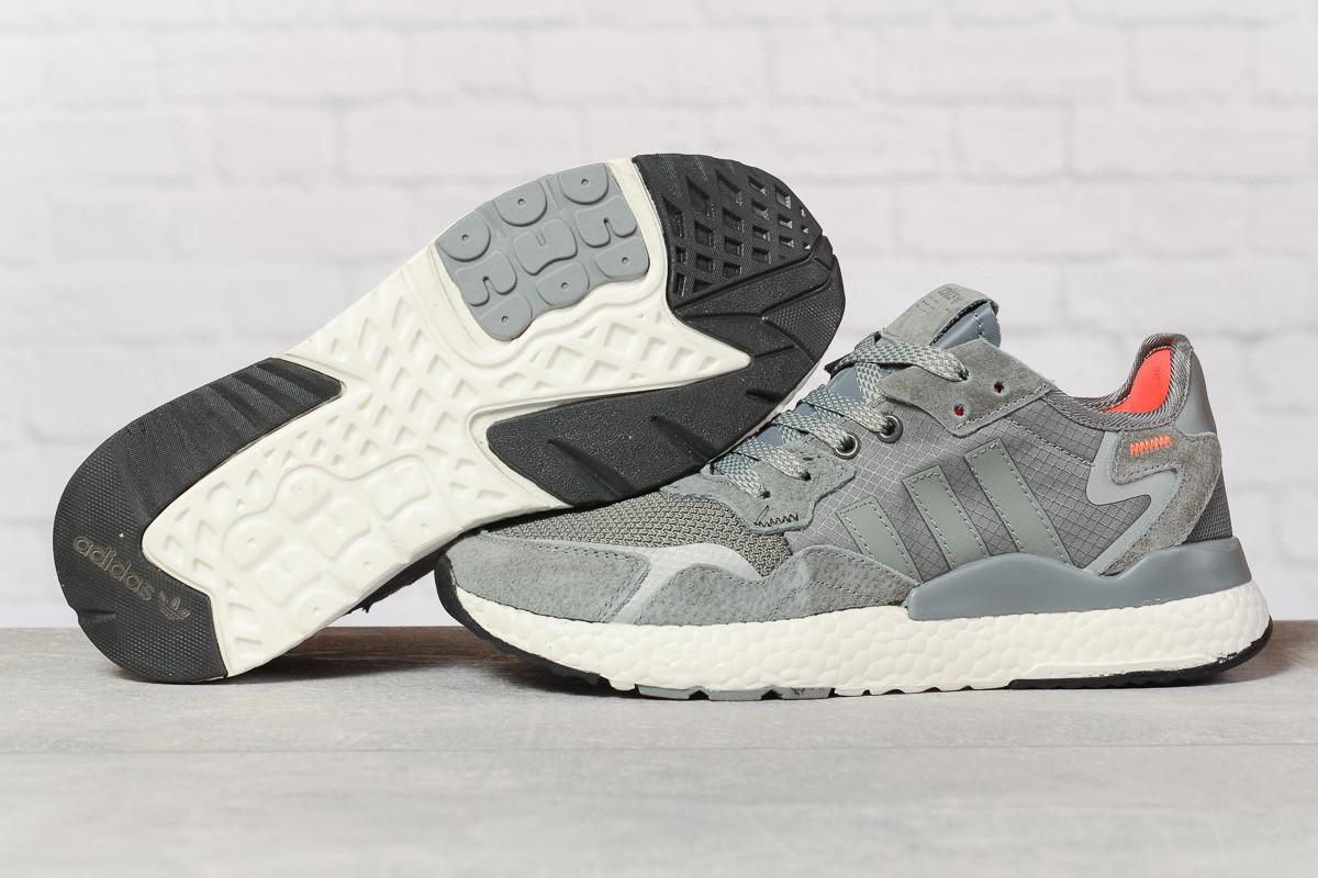 Кроссовки мужские 17299, Adidas 3M, темно-серые, < 41 42 43 44 45 > р. 41-25,2см.
