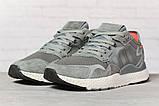 Кросівки чоловічі 17299, Adidas 3M, темно-сірі, < 41 42 43 44 45 > р. 41-25,2 див., фото 2