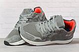 Кросівки чоловічі 17299, Adidas 3M, темно-сірі, < 41 42 43 44 45 > р. 41-25,2 див., фото 3