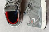 Кросівки чоловічі 17299, Adidas 3M, темно-сірі, < 41 42 43 44 45 > р. 41-25,2 див., фото 5