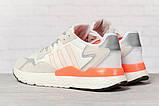 Кросівки чоловічі 17301, Adidas 3M, білі, < 41 42 43 44 45 46 > р. 41-25,2 див., фото 4