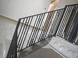 """Ограждение, перила для лестницы в современном стиле """"Лофт"""", фото 8"""