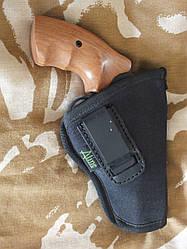 Кобура поясна синтетична для револьвера