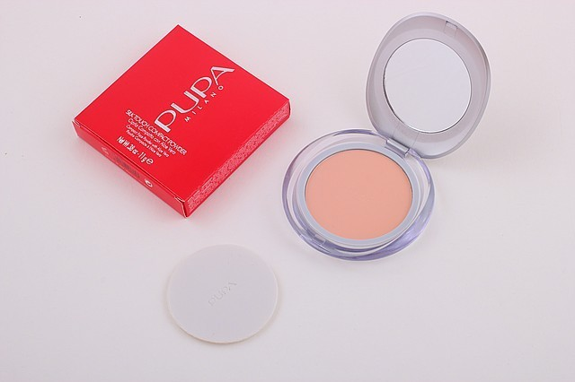 Компактная пудра Pupa Silk Touch Compact  Powder (реплика)MUS G092 (0509)/0-2