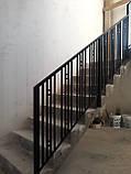 """Ограждение, перила для лестницы в современном стиле """"Лофт"""", фото 4"""
