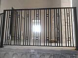 """Ограждение, перила для лестницы в современном стиле """"Лофт"""", фото 10"""