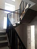 """Ограждение, перила для лестницы в современном стиле """"Лофт"""", фото 5"""
