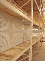 Пефорированые панели на палетные стеллажи