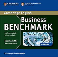 Business Benchmark Pre-Intermediate/Intermediate BULATS Class Audio CDs