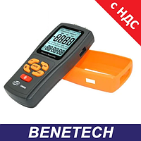 Дифманометр (дифференциальный микроманометр) USB, ±2,49 кПа BENETECH GM505