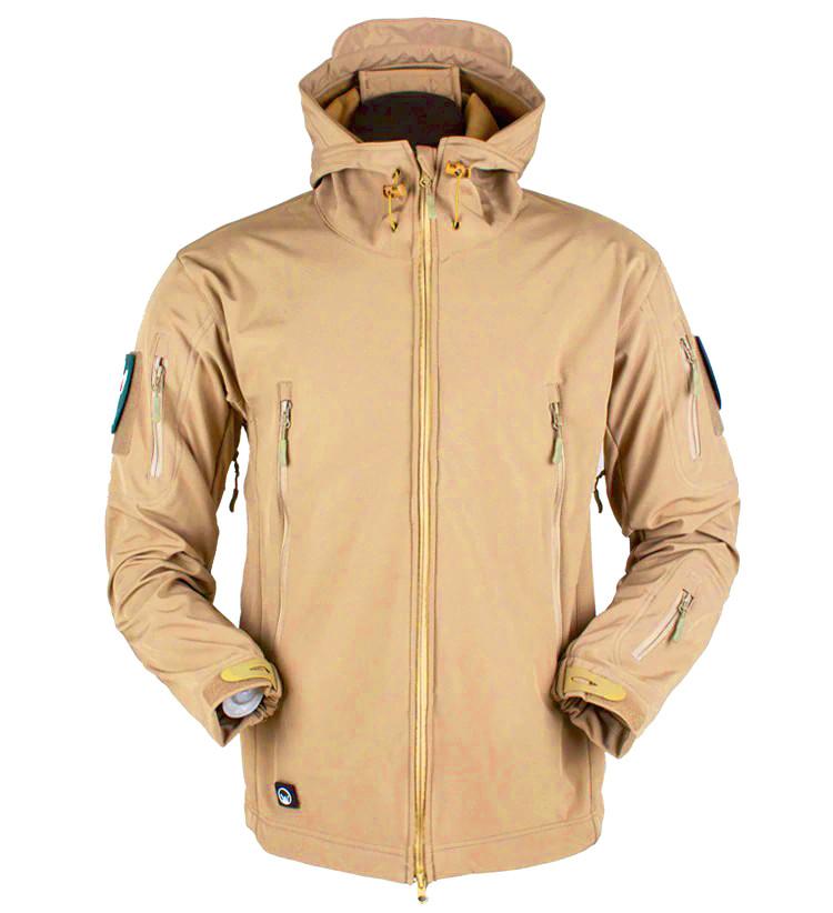 Куртка ESDY Softshell тактическая  Песочная (койот) S, L , XXL