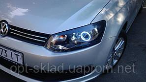 Установка биксеноновых линз  Volkswagen Polo Фольксваген Поло