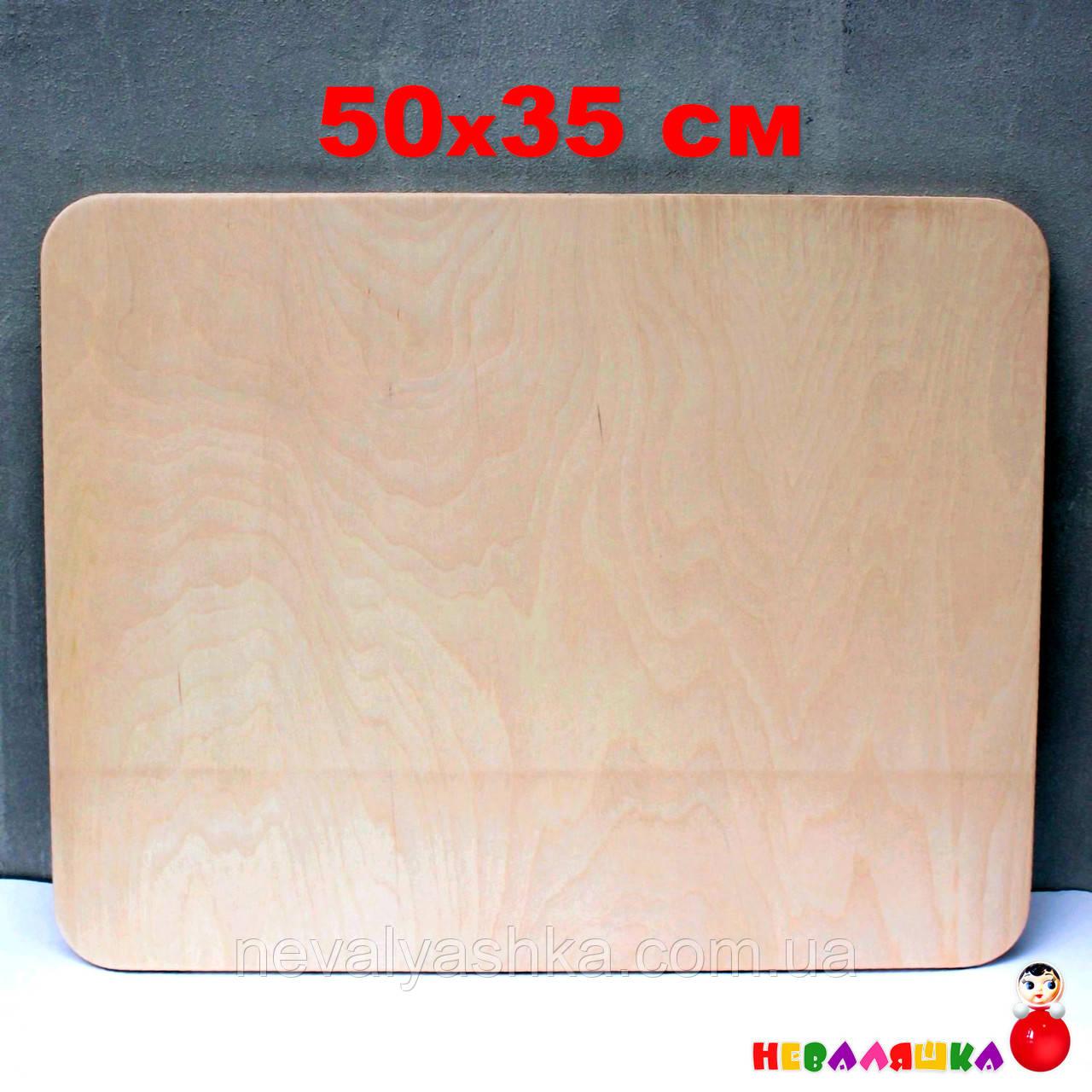 Основа для Бизиборда 50х35 см (фанера толщина 0,8 см) Заготовка Основа для Бізіборда ФАНЕРА 8 мм