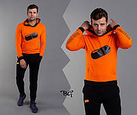 Трендовый спортивный мужской костюм, качественный пошив, р.М, L, XL код 1-1061G