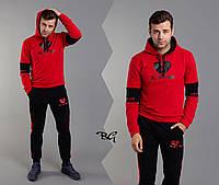 Трендовый спортивный мужской костюм, качественный пошив, р.М, L, XL код 1-1060G
