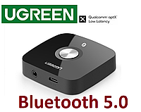 Bluetooth адаптер Ugreen Bluetooth 5.0 aptX LL приемник 3.5 mm AUX 40758