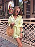 Жіночий літній костюм: сорочка та шорти (кольори), фото 4