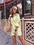 Жіночий літній костюм: сорочка та шорти (кольори), фото 6