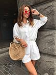 Жіночий літній костюм: сорочка та шорти (кольори), фото 9