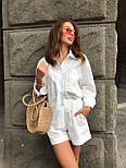 Жіночий літній костюм: сорочка та шорти (кольори), фото 8