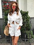 Жіночий літній костюм: сорочка та шорти (кольори), фото 10