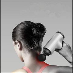 Портативный ручной массажер для тела FASCIAL GUN HG-320 Health Мышечный