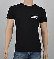 """Мужская футболка """"BMW2"""" черный"""