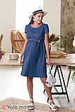 Джинсовое платье для беременных и кормящих GRACE DR-20.031, фото 3