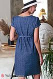 Джинсовое платье для беременных и кормящих GRACE DR-20.031, фото 5