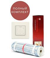 Теплый пол Thermopads FHMT-200/300Вт, 1,5 кв.м (нагревательный мат) 0,5х3 м