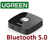 Bluetooth адаптер Ugreen Bluetooth 5.0  приемник 3.5 mm AUX 30444