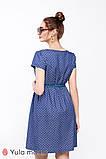Платье для беременных и кормящих из тонкого джинса с принтом CELENA DR-29.011, фото 3