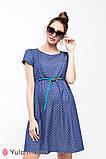 Платье для беременных и кормящих из тонкого джинса с принтом CELENA DR-29.011, фото 8