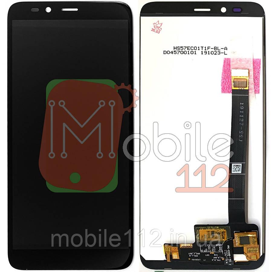 Экран (дисплей) Lenovo K320T SC9850K + тачскрин черный