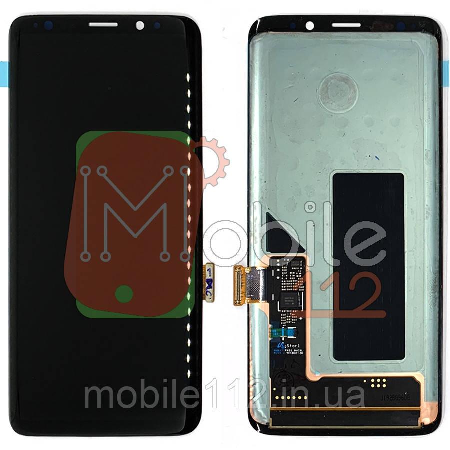 Экран (дисплей) Samsung Galaxy S9 G960F + тачскрин черный оригинал Китай переклей