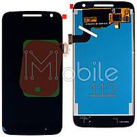 Экран (дисплей) Motorola Moto G4 Play XT1600 XT1601 XT1602 XT1603 XT1607 XT1609 + тачскрин черный оригинал Китай