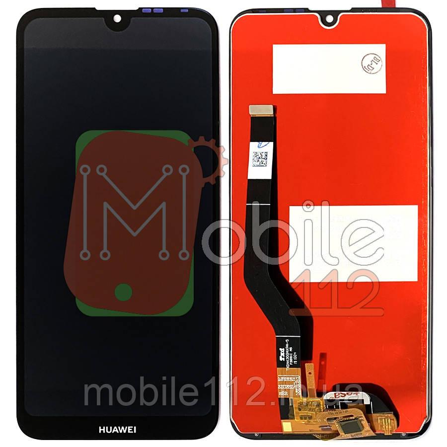 Экран (дисплей) Huawei Y7 2019 DUB-LX3 DUB-L23 DUB-LX1 DUB-L21 Y7 Prime 2019 Enjoy 9 + тачскрин черный