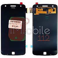 Экран (дисплей) Motorola Moto Z Play XT1635-02 XT1635-01 + тачскрин черный OLED