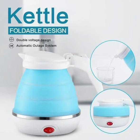 Електрочайник дорожній складаний Kettle foldable travel electric, чайник електричний складаний силіконовий