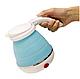 Електрочайник дорожній складаний Kettle foldable travel electric, чайник електричний складаний силіконовий, фото 2