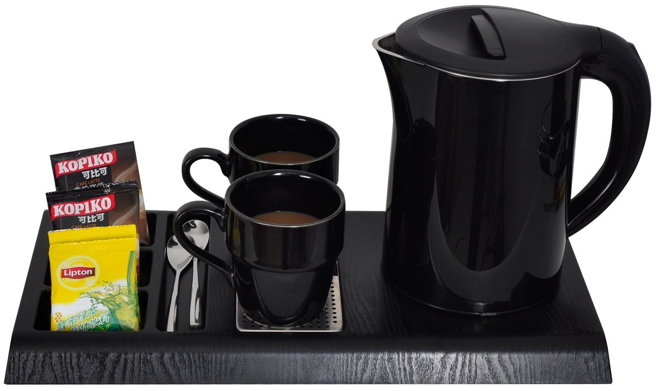 Чайная станция, набор G-H1266 Black (1,2 л) для гостиниц