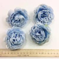 Голова розы пионовидной, голубая