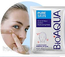 Тканинна маска проти запалень і акне BIOAQUA Pure Skin Acne Mask (30g)