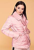 """Женская демисезонная куртка розовая """"S"""" (3019.3.1)"""