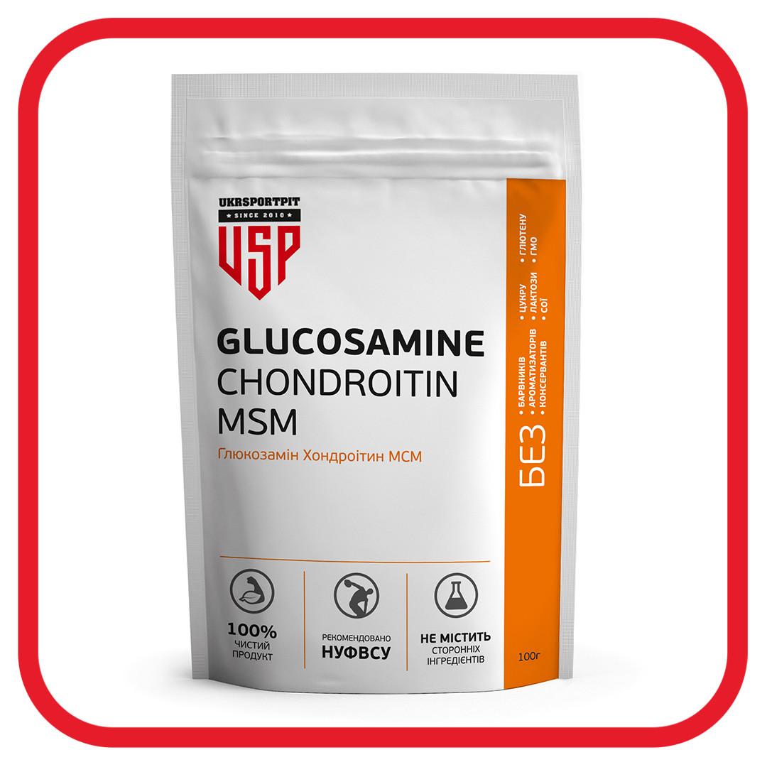 Глюкозамин Хондроитин МСМ 5:4:4 (Glucosamine Chondroitin MSM 5:4:4) 400г.