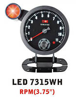 Тахометр Ket Gauge LED 7315 WH