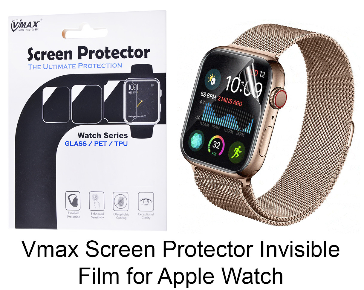 Защитная пленка для Apple Watch 42 mm/44 mm Vmax Screen Protector
