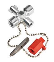 Ключ для электрошкафов - Knipex 00 11 02
