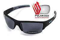 Сонцезахисні тактичні окуляри BluWater POLARIZED Daytona-2 чорні