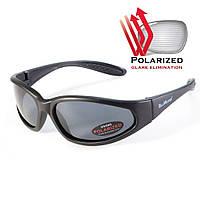Поляризационные очки BluWater Samson-2 (Sharx) Polarized с темными линзами, фото 1